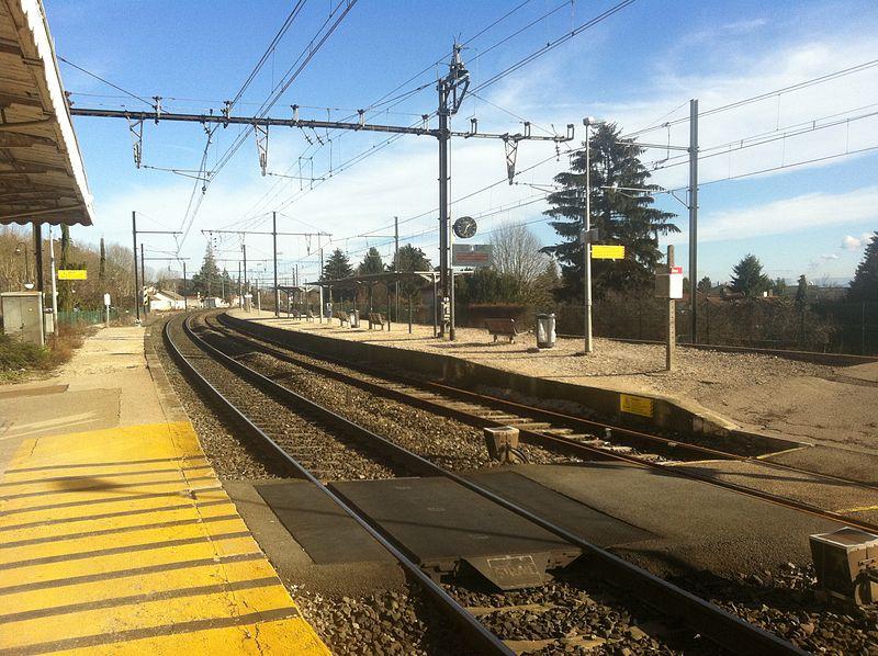 ligne TER Lyon/Ambérieu-en-Bugey