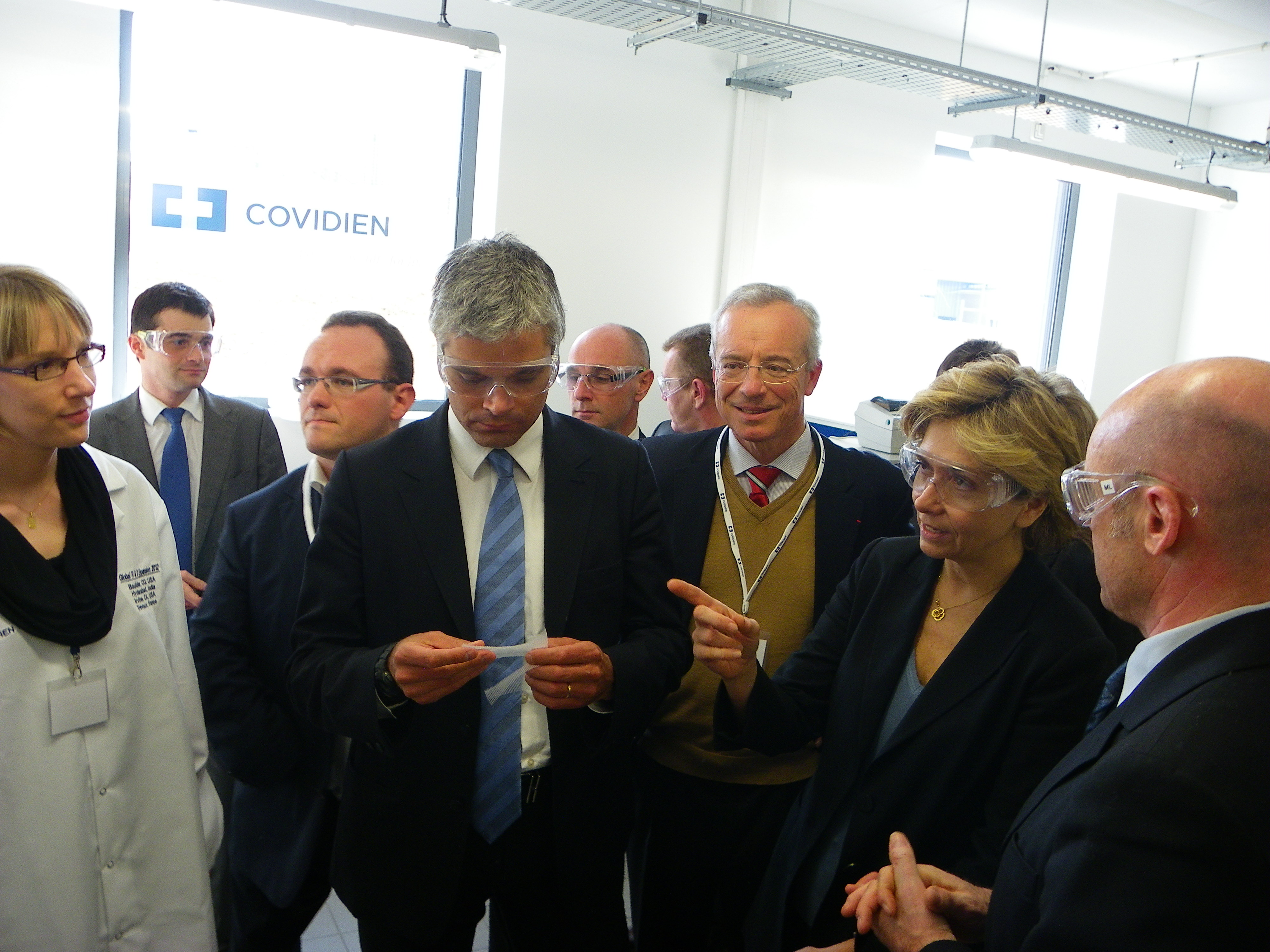 Inauguration d'un centre mondial de R&D à Trévoux