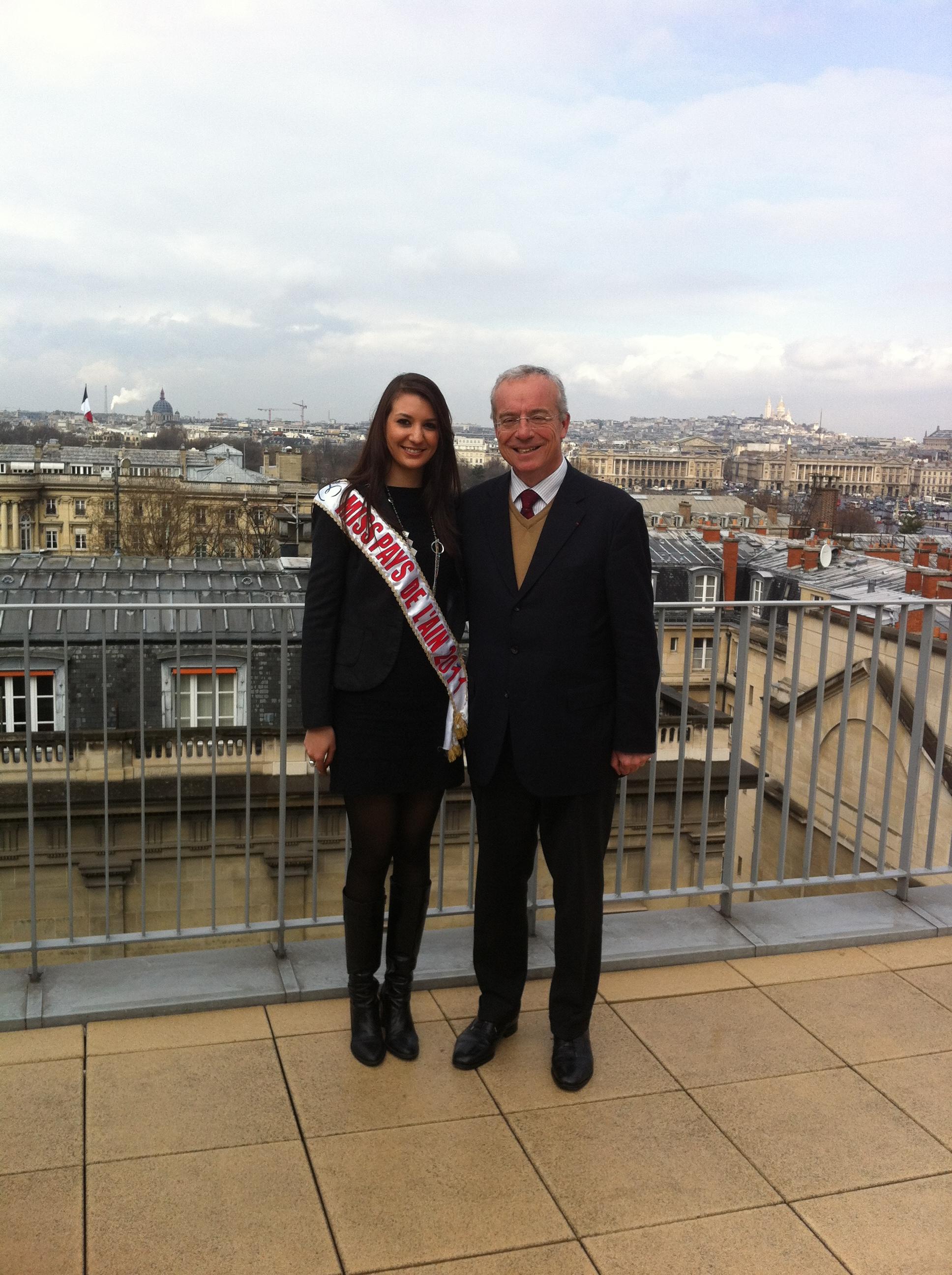 Notre Miss Pays de l'Ain à l'Assemblée