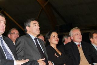 Meeting de François Fillon hier à Bourg