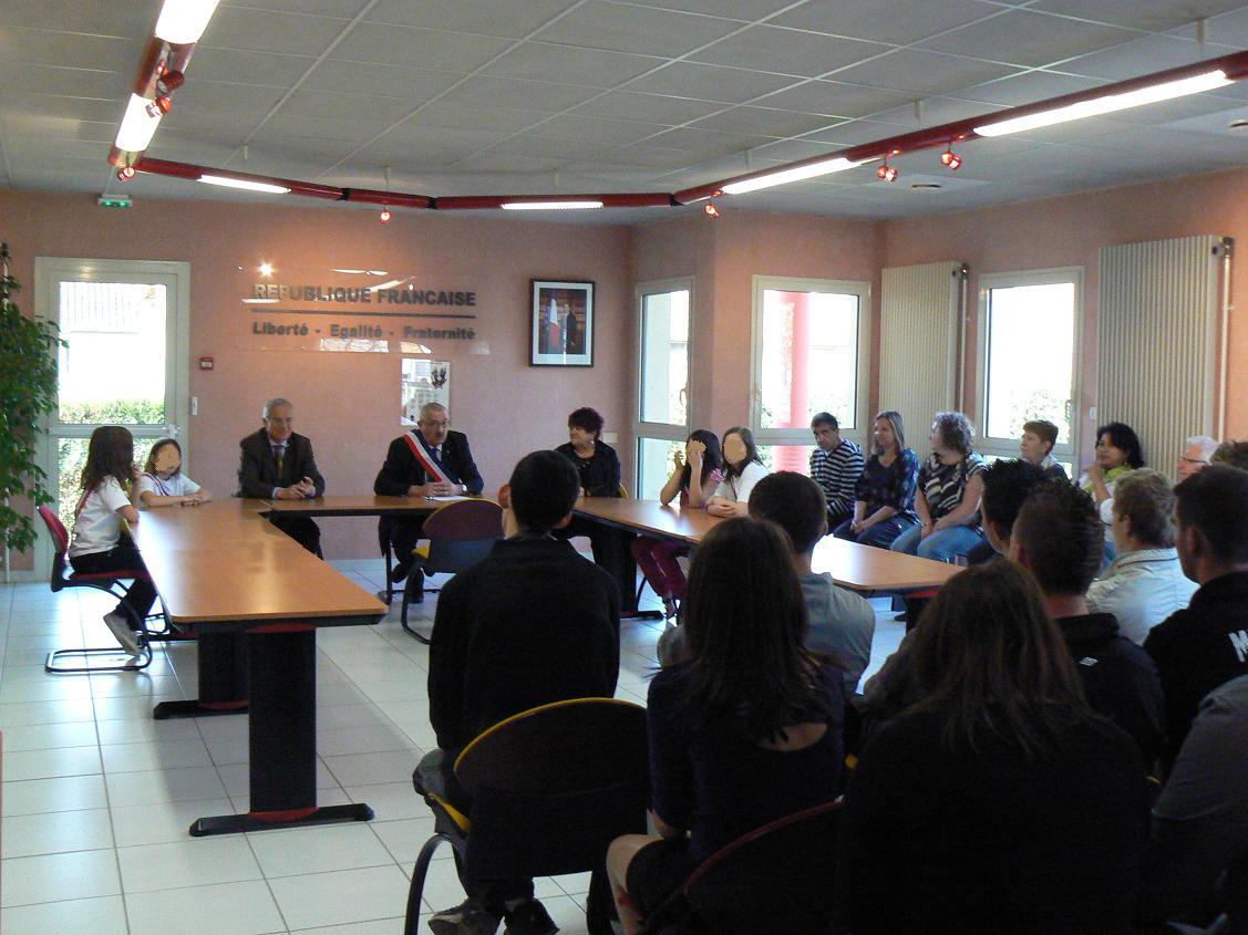 Béligneux : cérémonie de la citoyenneté