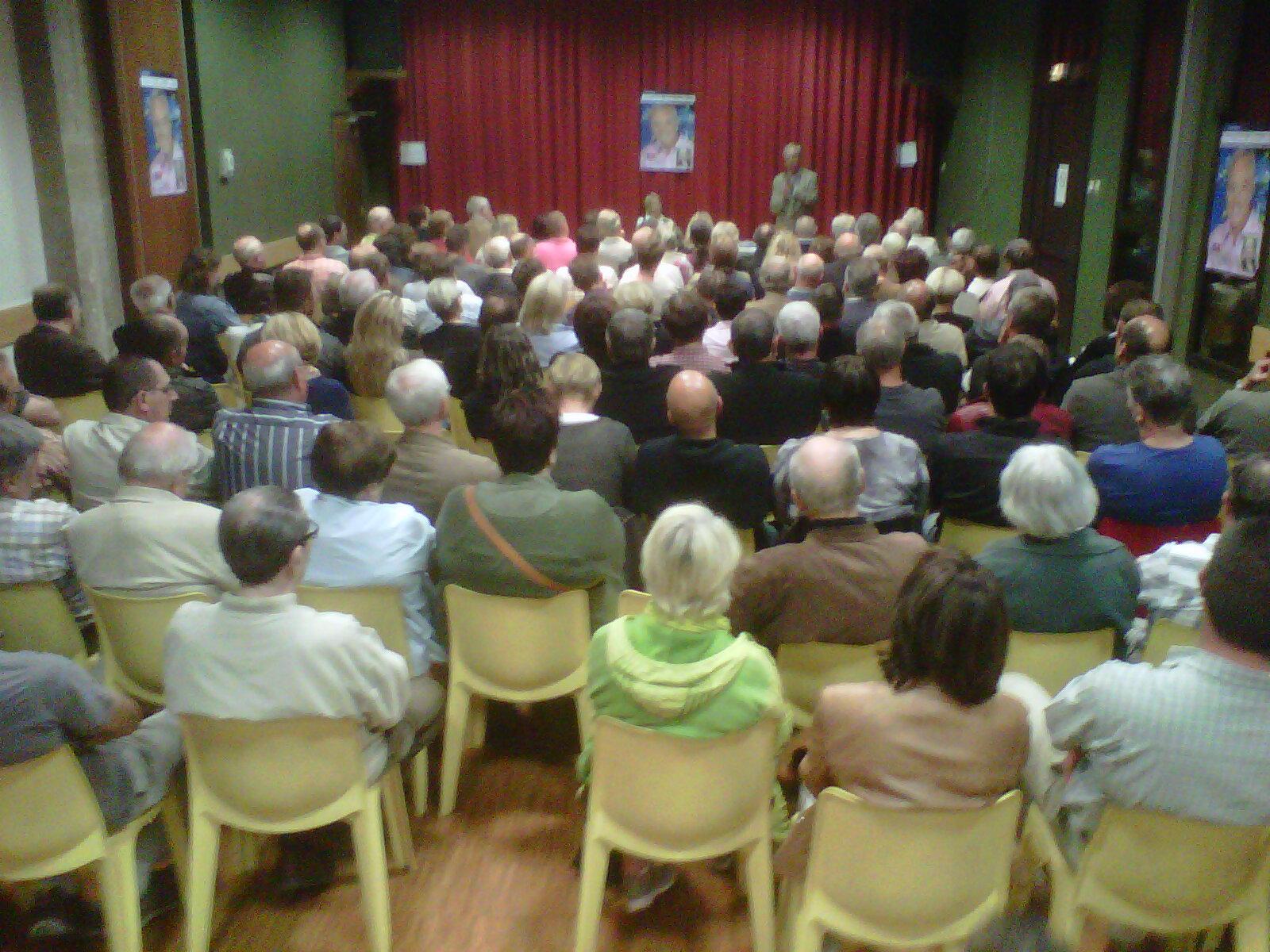 Lagnieu : 61ème et dernière réunion publique