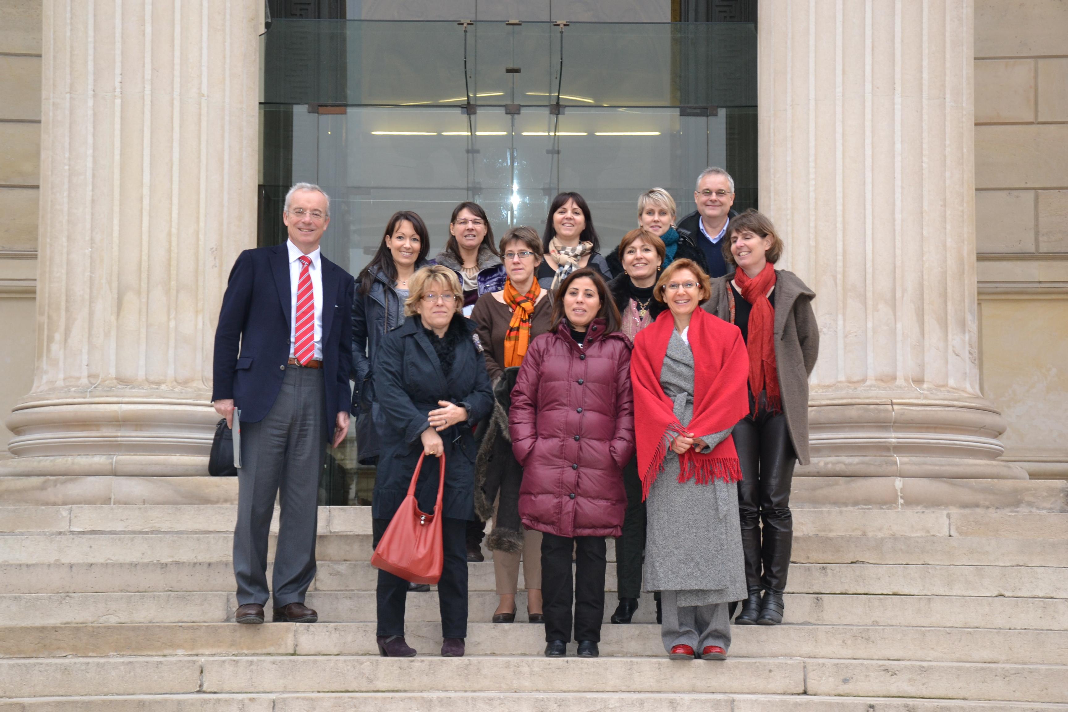 Visite du Palais Bourbon