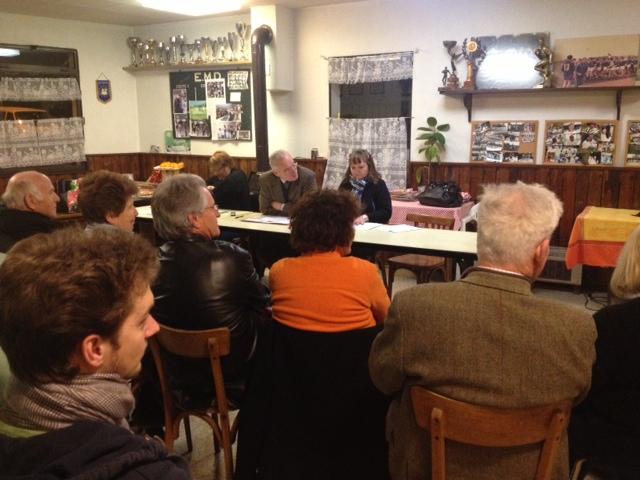réunion des adhérents UMP du canton de Meximieux
