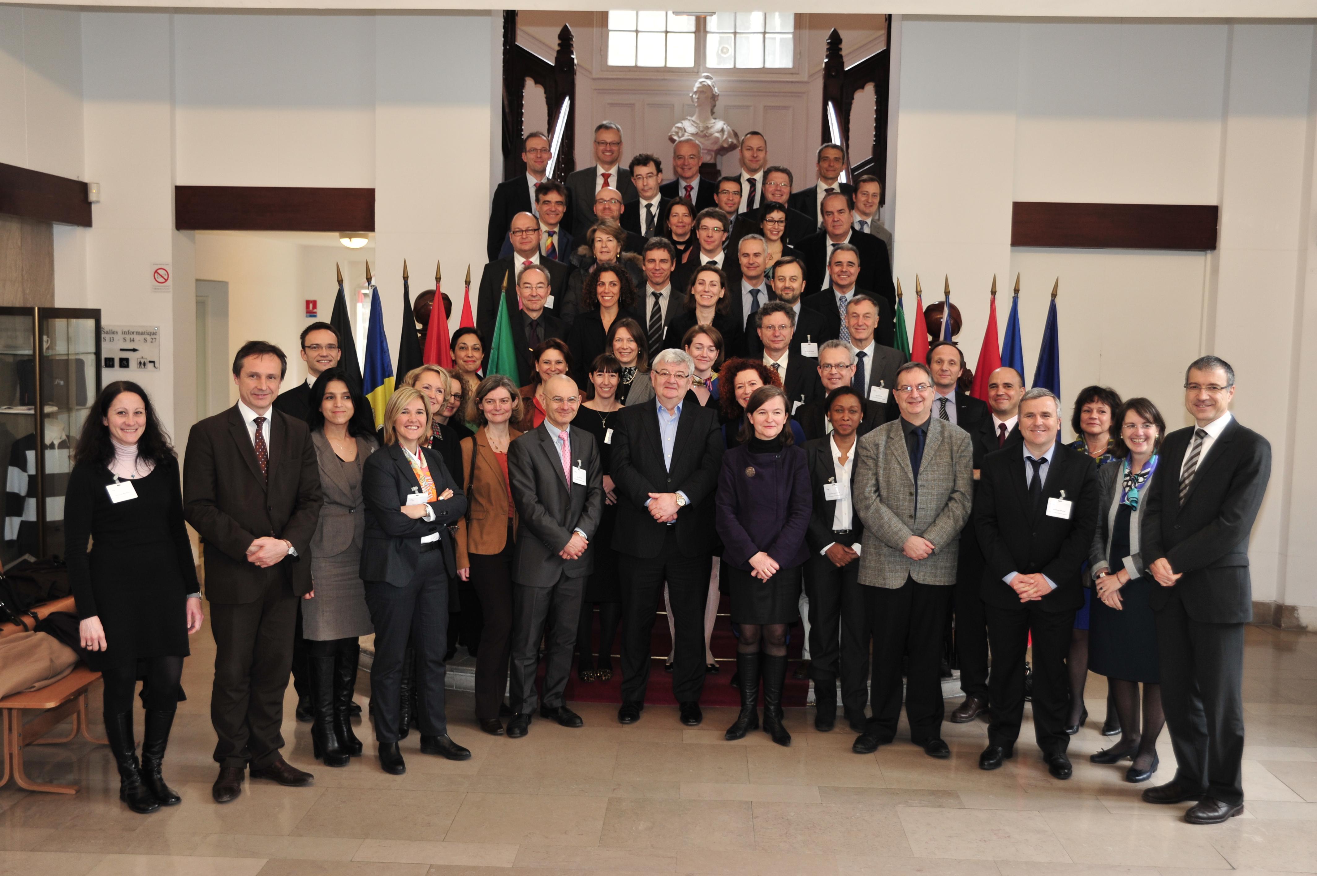 Séminaire sur les questions européennes