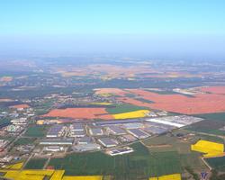 projet de création d'une nouvelle usine dans le Parc Industriel de la Plaine de l'Ain