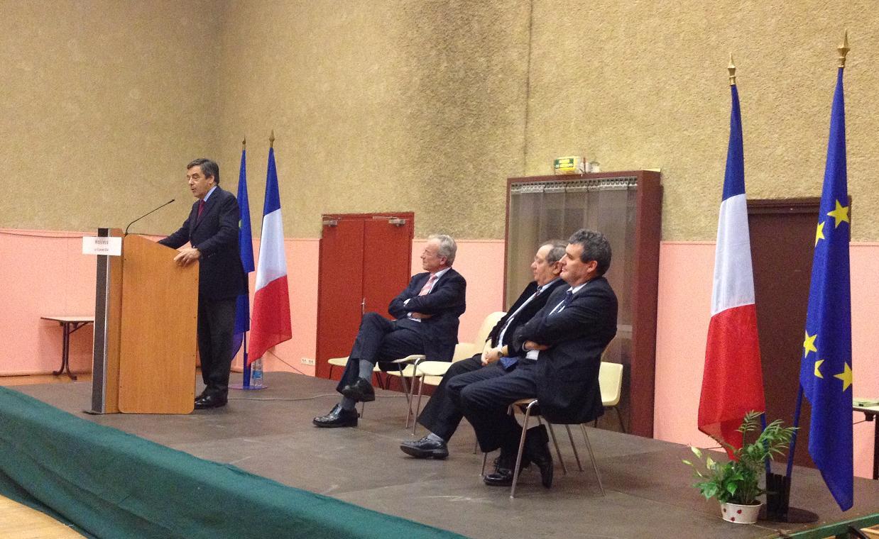 François FILLON à Massieux
