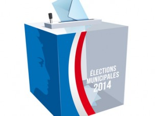 Urne lections municipales 2014