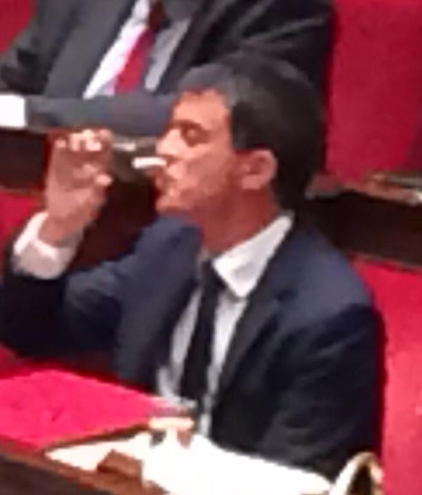 Discours de M. Valls à l'Assemblée nationale.