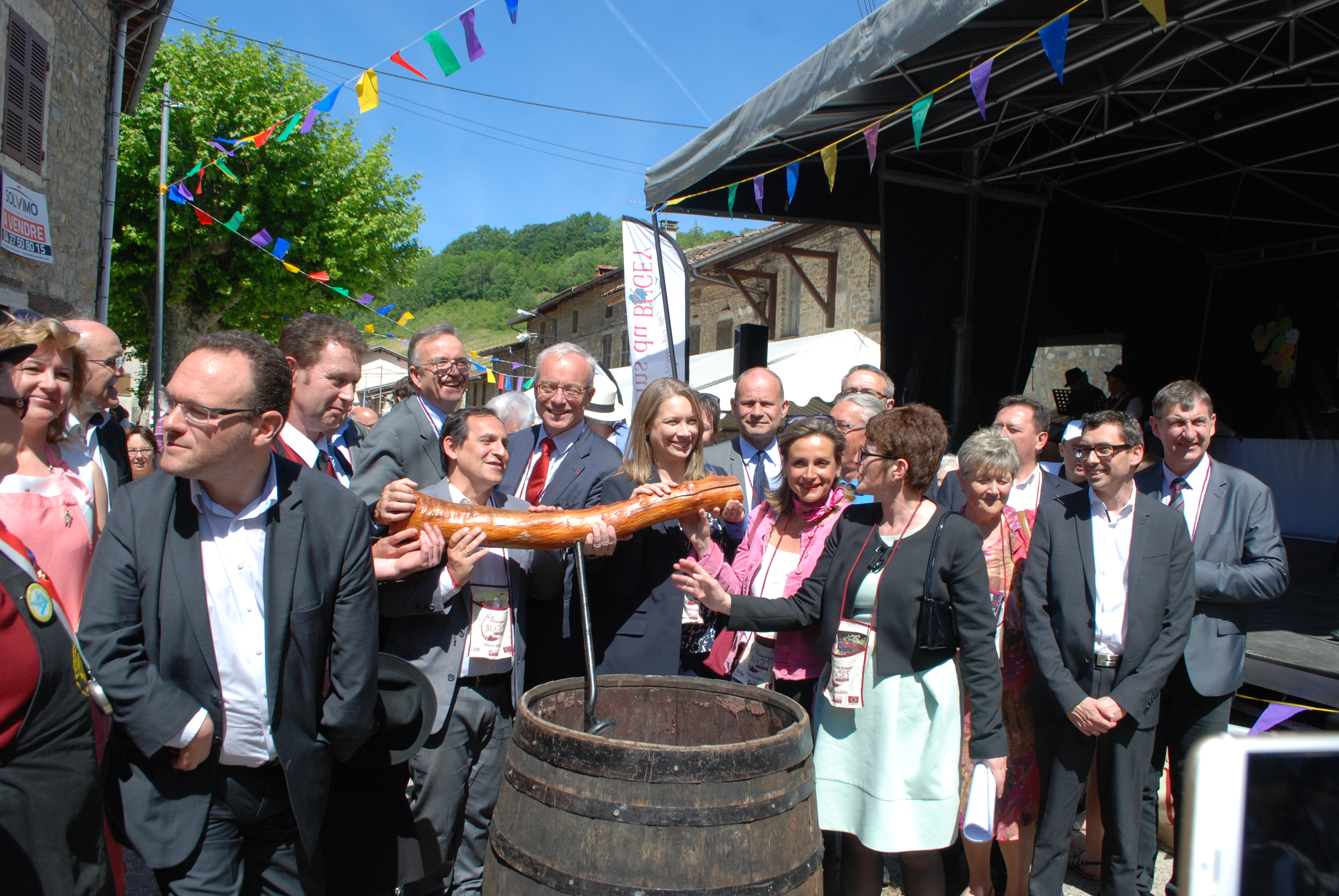 Printemps des vins du Bugey à Vaux