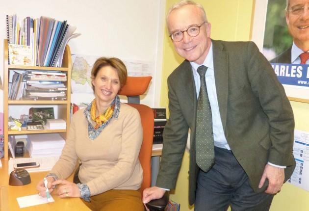 «Charles et Hélène de la Verpillière : député et assistant parlementaire»