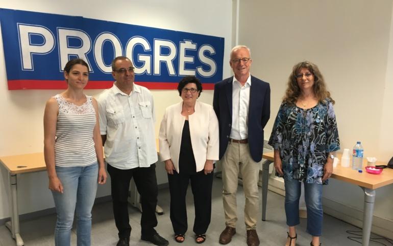Grand débat entre les candidats, organisé par Le Progrès