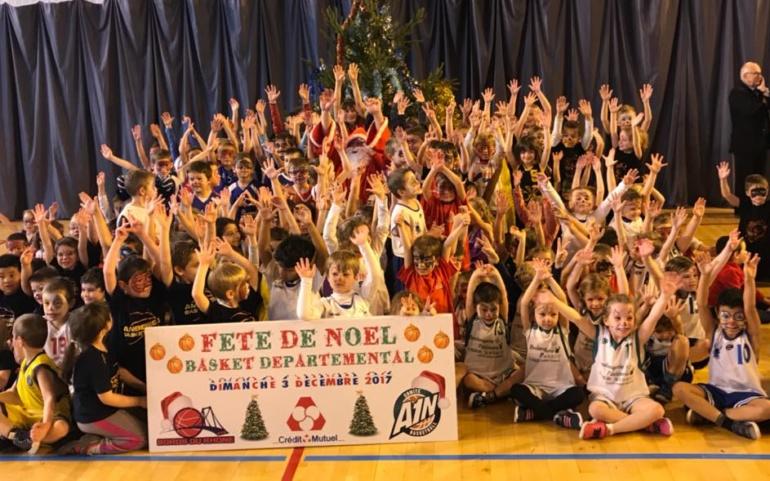 Arbre de Noël du comité de l'Ain de Basket