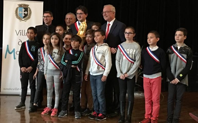 La mairie de Montluel reçoit la Marianne d'Or