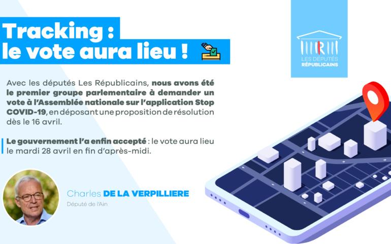 Tracking : le vote aura lieu !
